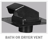 Bath or Dryer Vents