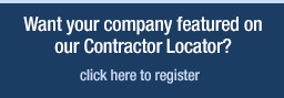 Contractor Locator Registration