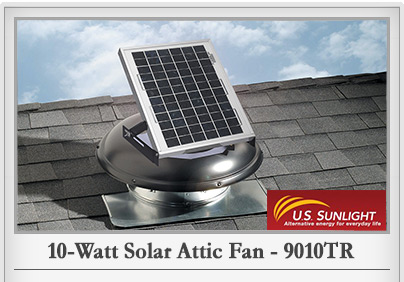 SolarCool Solar Attic Fan