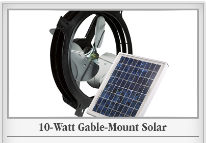 Solar Gable Fan
